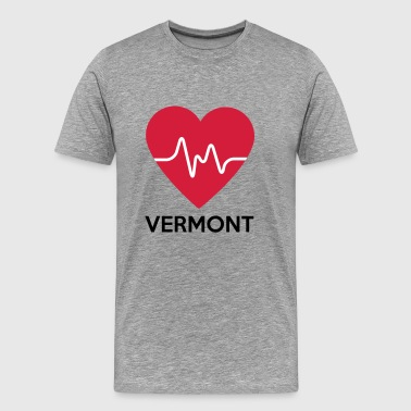 heart Vermont - Men's Premium T-Shirt
