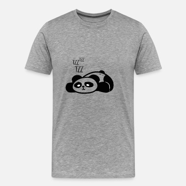Cute panda shirt for Panda fans gift - Men's Premium T-Shirt