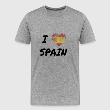 I Love Spain - Männer Premium T-Shirt