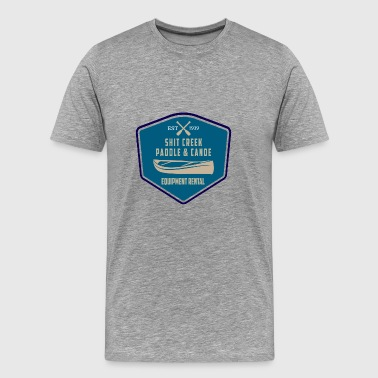 Up A Creek Without A Paddle - Men's Premium T-Shirt