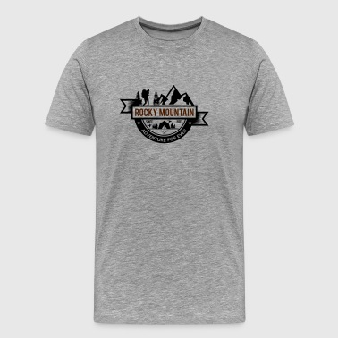 Rocky Mountain - Premium-T-shirt herr