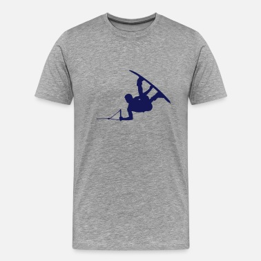 wakeboarder_14 - Men's Premium T-Shirt