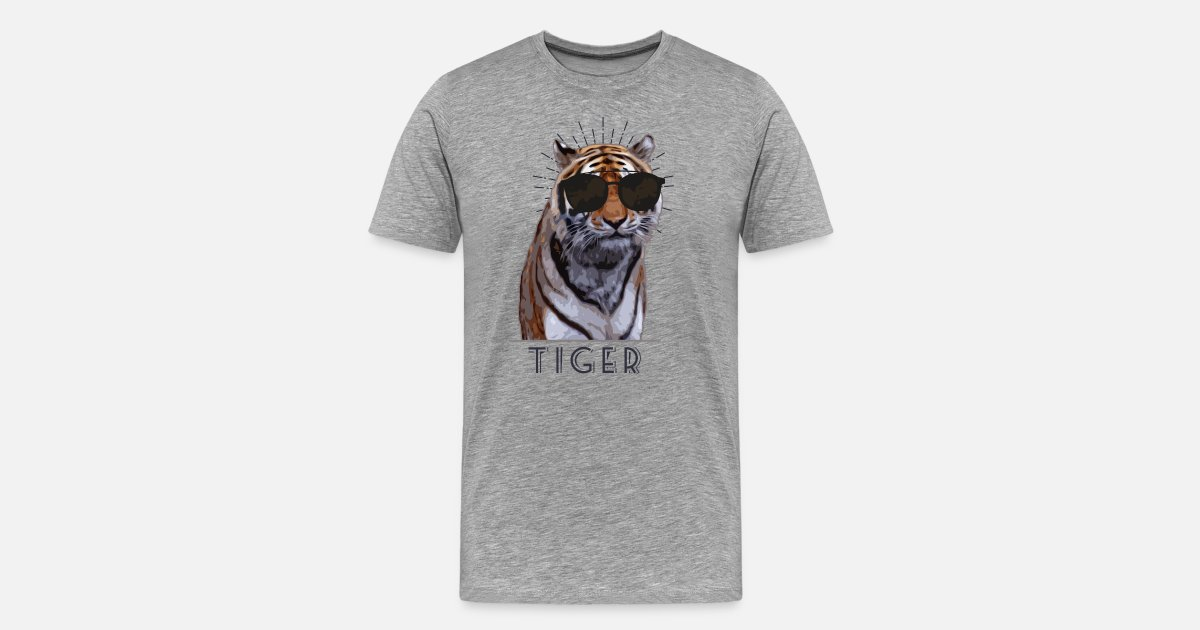 Tiger kühlen Brille lustig von Spread Shirt | Spreadshirt