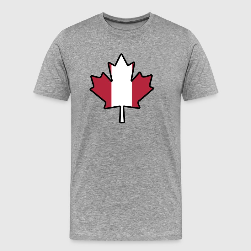 Canada leaf - Men's Premium T-Shirt