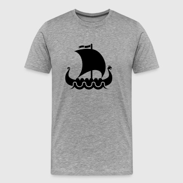 Vike vikings viking - Men's Premium T-Shirt