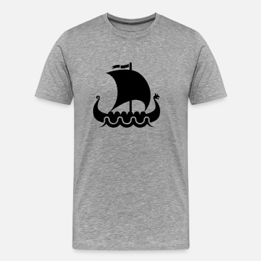 Viking Style vikings viking - Men's Premium T-Shirt