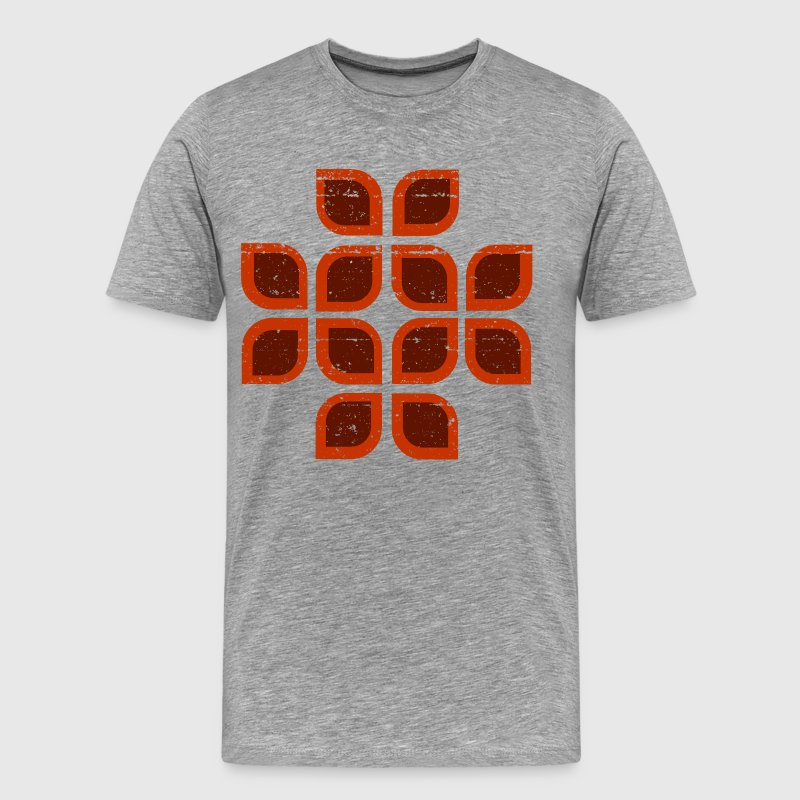Leaves Seventies Style - Men's Premium T-Shirt