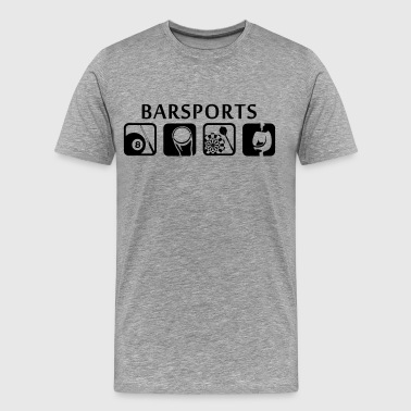 Kneipensport Kneipensport - Barsports - Männer Premium T-Shirt