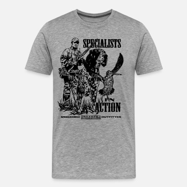 Becadas specialist_in_action - Camiseta premium hombre
