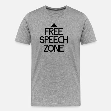 Journalist free speech zone - Männer Premium T-Shirt