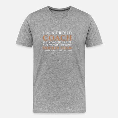 Hockey Coach Origineel Hockey Coach Cadeau - Mannen Premium T-shirt
