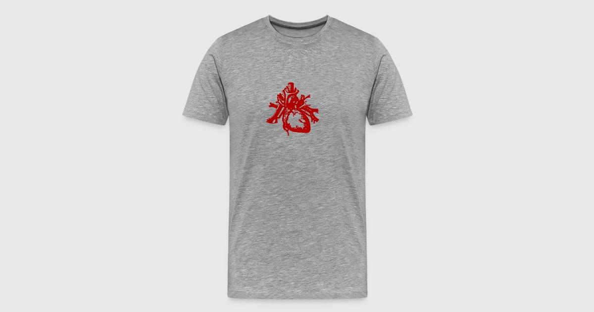 Herz Gruselig Blut Halloween Anatomie Designe von Limitierte Shirts ...