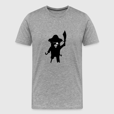 Pirate Pig Carnival Halloween - Men's Premium T-Shirt