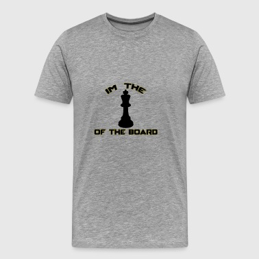 King of the Board - Männer Premium T-Shirt