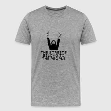 Activist Activist - the street to the people - Men's Premium T-Shirt