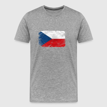 Czech Republic Flag - Männer Premium T-Shirt