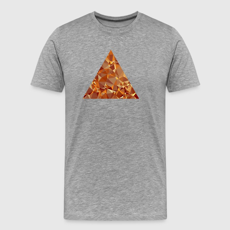 Triangle (low poly) - T-shirt Premium Homme