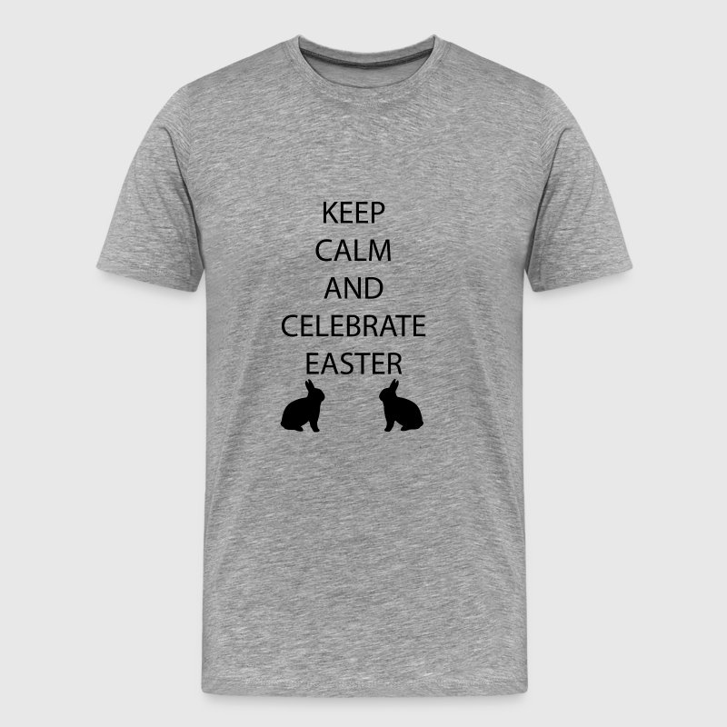 Pasen Keep Calm - Mannen Premium T-shirt