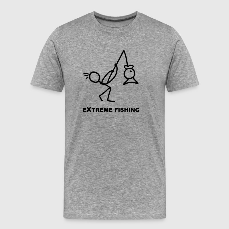 Extreme Fishing - Fishing - Men's Premium T-Shirt