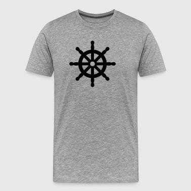 steering wheel - Men's Premium T-Shirt