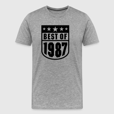 Best of 1987 - Männer Premium T-Shirt