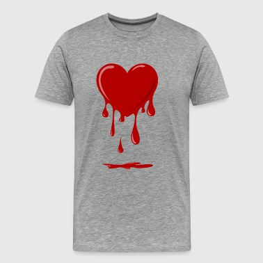 bleeding heart - Men's Premium T-Shirt