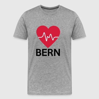 Bern heart Bern - Men's Premium T-Shirt