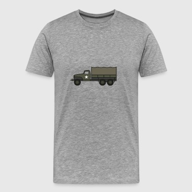 Ww2 US Army 2 1-2 ton Truck - Men's Premium T-Shirt