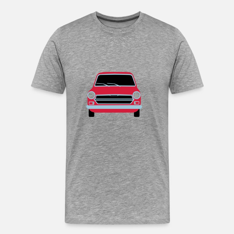 Car T-Shirts - 1100 - Men's Premium T-Shirt heather grey
