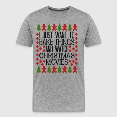 Bad Santa christmas movies - Men's Premium T-Shirt