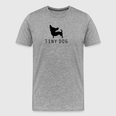 Tiny Dog - Premium-T-shirt herr