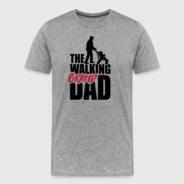 The walking (grand) dad - grandad - Premium-T-shirt herr