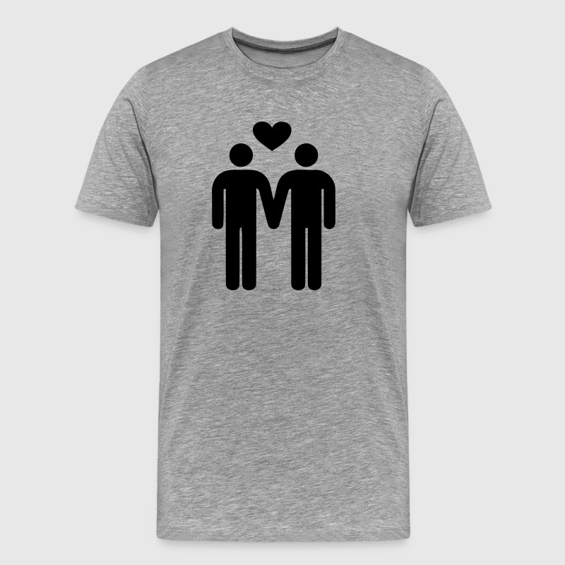 gay love - Amour Gay - T-shirt Premium Homme