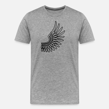 Steal wing - Men's Premium T-Shirt