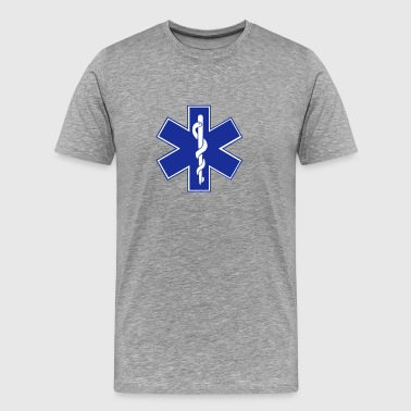 Star of Life / EMT Symbol - Men's Premium T-Shirt