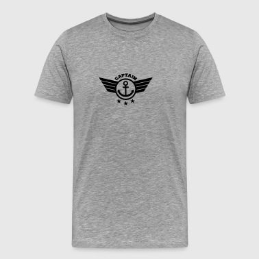 Captain Anchor Anchor Captain - Männer Premium T-Shirt