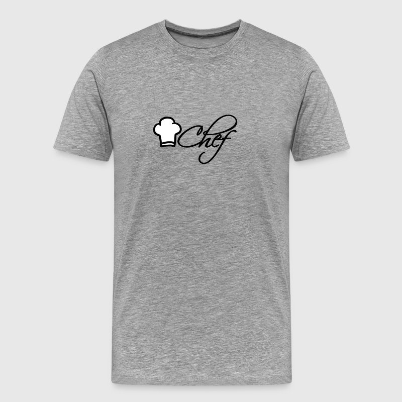 Chef Hat Chef Logo - Men's Premium T-Shirt