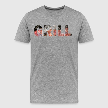 Instructeur Du Barbecue gril - T-shirt Premium Homme