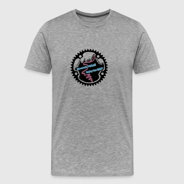 Mountain FREAK - Männer Premium T-Shirt