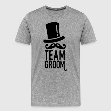 team groom - Mannen Premium T-shirt