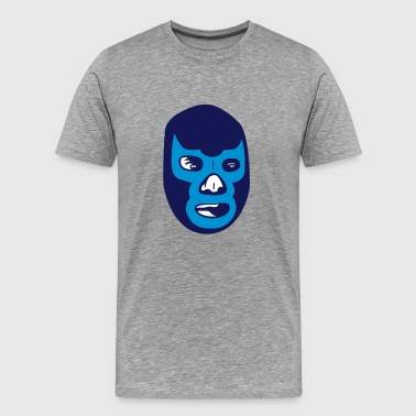 Rey Mysterio mexican wrestling mask lucha libre T-Shirts - Men's Premium T-Shirt