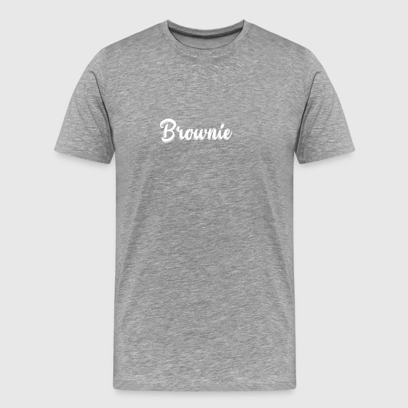 Brownie festival cadeau blond design - T-shirt Premium Homme