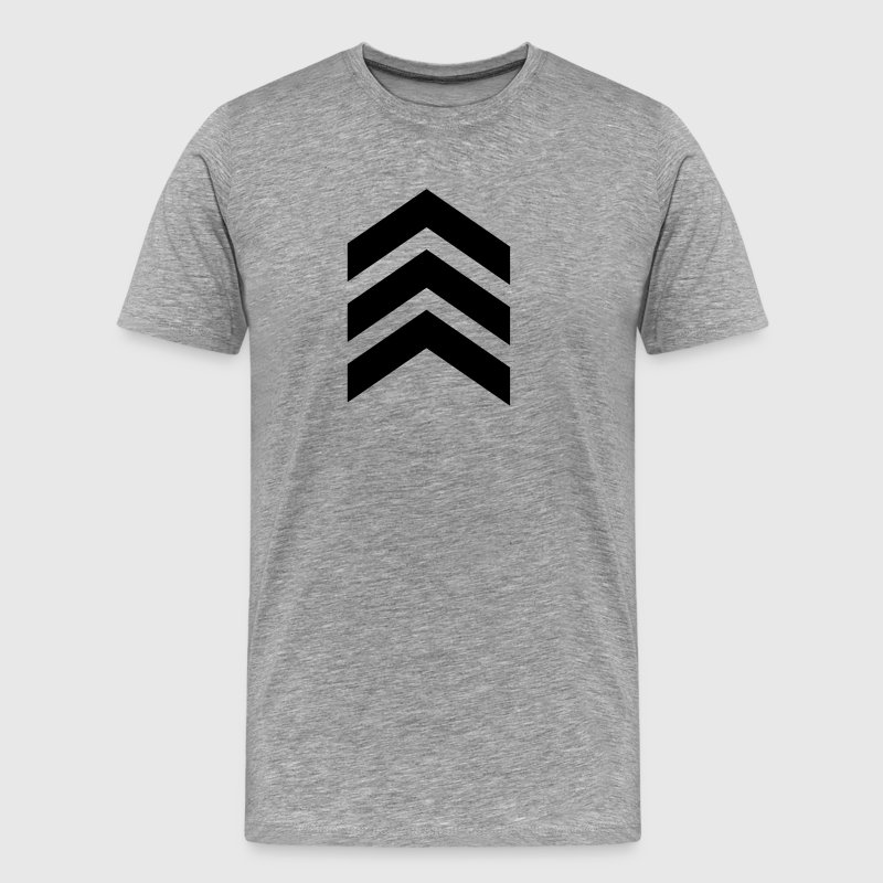 Arrow, military, army, insignia, feather, symbols - Men's Premium T-Shirt