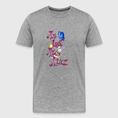 Deck As lost as alice - Men's Premium T-Shirt