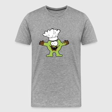 cooking/baking Monster - Men's Premium T-Shirt