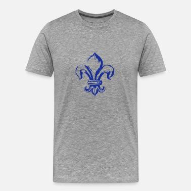0ffd5a85b722a Fleur De Lys symbole roi de france - T-shirt Premium Homme