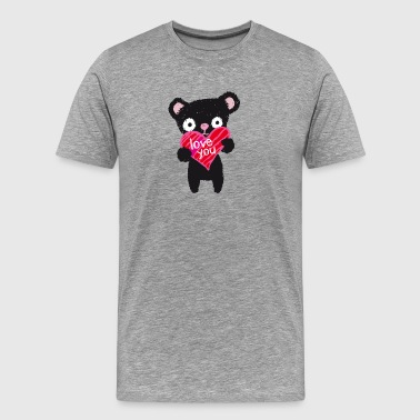 Love Bear - Männer Premium T-Shirt