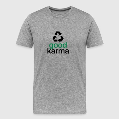 Esoteric Awareness Spiritual Good Karma - Men's Premium T-Shirt