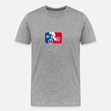 Mtb Bike Logo MTB Simple Logo - Männer Premium T-Shirt