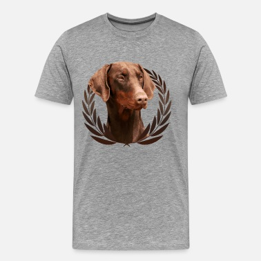 Doberman Doberman Pinscher - Dobermann - Men's Premium T-Shirt